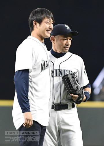 岩隈久志 岩隈 巨人 イチロー マリナーズ シアトル 始球式 日米通算 ジャイアンツ