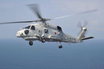 米軍機墜落で海上自衛隊小松島基地が救助したのと同種の哨戒ヘリ(出典・海上自衛隊ホームページ)