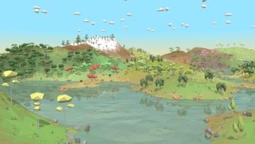 生態系シム『Equilinox』「忙しい都会の生活から逃げ出すにはぴったりです!」【注目インディーミニ問答】