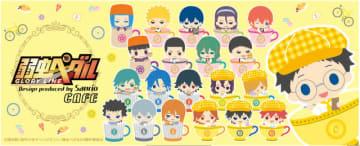 「弱虫ペダル Design Produced by Sanrio カフェ」(C)渡辺航(週刊少年チャンピオン)/弱虫ペダル04制作委員会