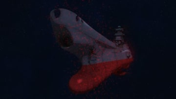 「宇宙戦艦ヤマト2202 愛の戦士たち」のテレビアニメ版の第10話「幻惑・危機を呼ぶ宇宙ホタル」の一場面(C)西崎義展/宇宙戦艦ヤマト2202製作委員会