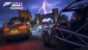 『Forza Horizon 4』第1弾拡張「Fortune Island」トレイラー公開!―島の荒れた天候、危険な地形を披露