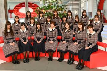 23日放送のバラエティー番組「おしゃれイズム」にゲスト出演する「乃木坂46」