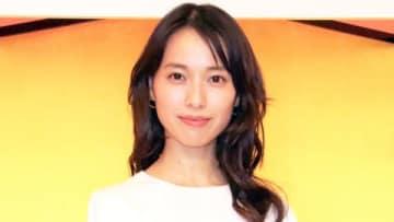 2019年度後期の連続テレビ小説「スカーレット」の会見に登場した戸田恵梨香さん