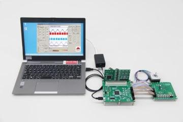 ロームは12月4日、業界初となるPC と電源1 つで完結できるモータドライバ評価ツール「RAGU® シリーズ」を発表。モータアプリケーション開発の劇的な効率化に期待。