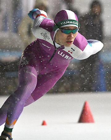 少年男子・森重(山形中央高)が2冠 Sスケート国体県予選