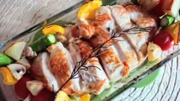 【簡単鶏肉レシピ】ローストチキンで素敵なクリスマスを演出♪