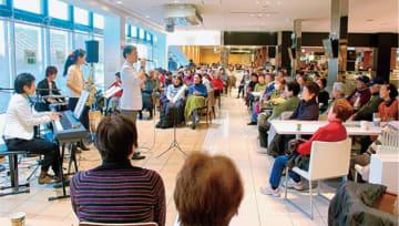 クリスマステーマに無料演奏会「ぷらっとコンサート」@海老名サービスエリア