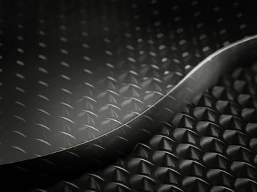 マツダが開発し「エコプロ2019」の会場で発表したバイオエンプラ新意匠2層成形技術のイメージ