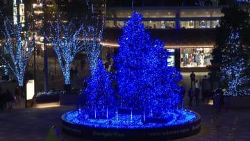 冬のイルミネーションが街を別世界に 東京