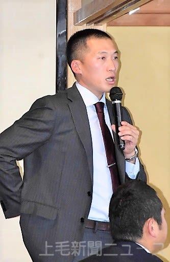 「心づくりの大切さ」を語った高岡商高野球部の吉田監督