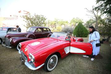 イスラマバードでクラシックカー·ショー開催