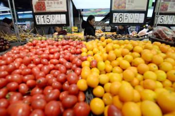11月の中国消費者物価、2·2%上昇