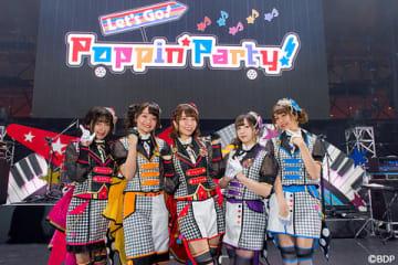 両国国技館(東京都墨田区)で開催された「BanG Dream!」のライブイベント「BanG Dream! 6th☆LIVE」の様子