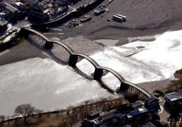 世界遺産登録へ再挑戦する岩国市の錦帯橋