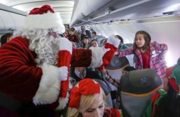 病気と戦う子どもたち サンタを訪ねて「北極」へ カナダ