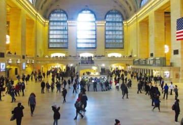 現在のグランドセントラル駅の構内。写真右手が42ストリート側