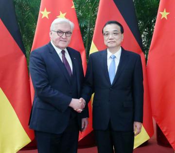 李克強総理、シュタインマイヤー独大統領と会見