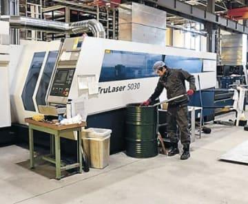レーザー加工機を増台 ビー・ケー・テイ、新工場本格操業