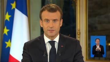 パリで暴徒化...収束は? マクロン氏 妥協策を公表