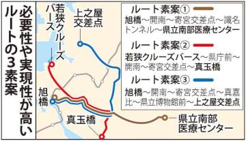 【那覇・路面電車】必要性や実現性が高いルートの3素案