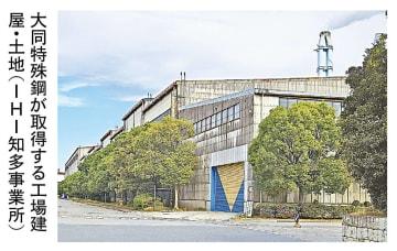 大同特殊鋼、IHI愛知の用地20万平方メートル取得