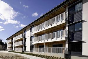 いわきの復興住宅、ウッドデザイン賞 木の癒やし効果生かす