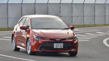 日本カー・オブ・ザ・イヤー2018-2019、10ベスト:トヨタ・カローラ