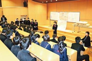 南相馬(福島)にコシ米150キロ 学校田で育て8年 新湊南部中