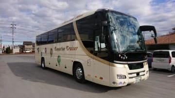 EDSSが搭載されたバス
