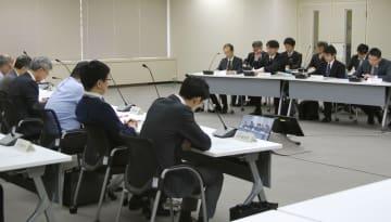 原子力規制委の審査会合=11日午前、東京都港区