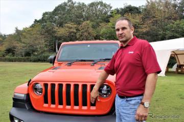 FCA USラングラー・モデル開発部門シニアマネージャーのジョン・アダムス氏