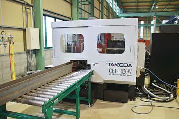 金太、形鋼用複合加工機を初導入