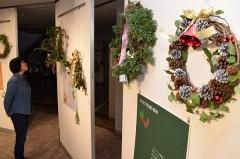 半田山植物園で「クリスマス展」