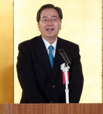 「ILCをぜひ日本に誘致すべきだ」と訴える斉藤鉄夫幹事長
