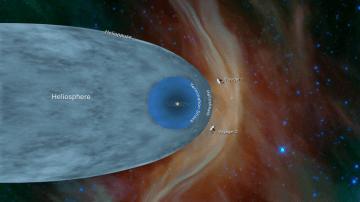「ボイジャー2号」太陽圏の最外部を抜け星間空間に到達