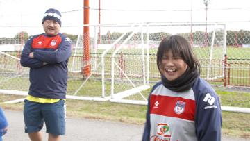 菊島宙選手(ブラインドサッカー)