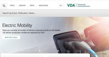 ドイツ自動車工業会(VDA)の公式サイト