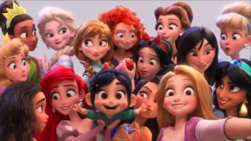 ディズニープリンセスも大集合! - 映画『シュガー・ラッシュ:オンライン』より - (C) 2018 Disney. All Rights Reserved.