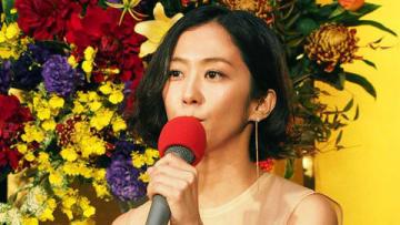 NHKの正月時代劇「家康、江戸を建てる」の記者会見に登場した優香さん