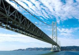 明石海峡大橋=神戸市垂水区