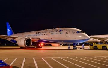 アモイ航空、福州-パリ直行便を就航