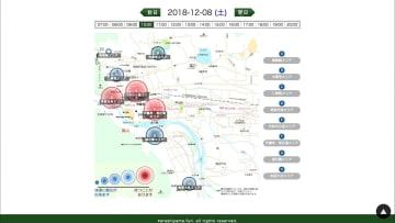 """観光地革命 京都嵐山の""""混雑見える化"""""""