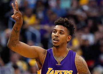 Nick Young: Los Angeles Lakers v Denver Nuggets