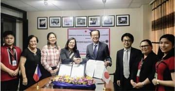 東京中央日本語学院とミンダナオ国際大学が提携を結んだ(アビタス提供)