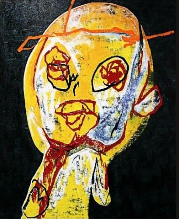 ボクシング元世界王者の鬼塚さん、パンチ効いた自画像100点 福岡市で16日からアート展開催 [福岡県]
