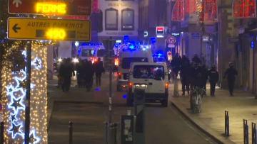 【速報】仏ストラスブールで銃撃 2人死亡...犯人は逃走中