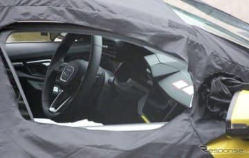 アウディ S3スポーツバック 次期型スクープ写真