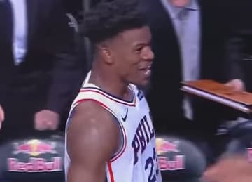 Jimmy Butler scores last-second 3 in 76ers' win vs. Nets