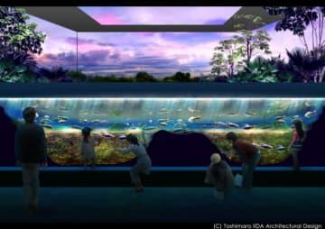 水族館のイメージ。(画像: 住商アーバン開発の発表資料より)